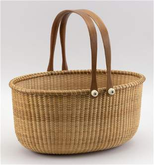 NANTUCKET BASKET BY MARILYN HAUG Contemporary Height to