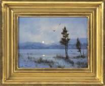 "WILLIAM R. DAVIS (Massachusetts, b. 1952), ""The Winter"