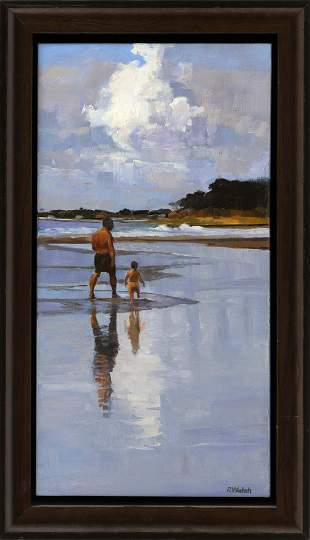 PATRICIA WALSH (New York, Contemporary), Father and son