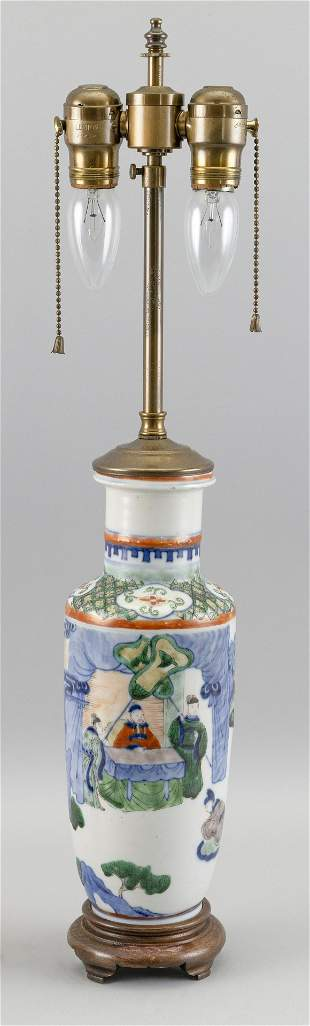 CHINESE PORCELAIN VASE Late 19th/Early 20th Century