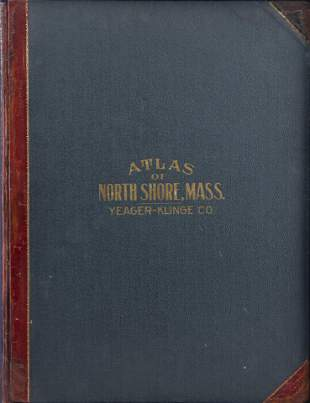 ATLAS OF THE NORTH SHORE BEVERLY TO MAGNOLIA ESSEX CO.
