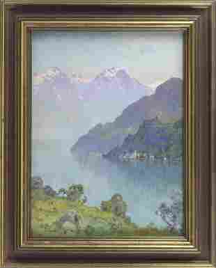 HEZEKIAH ANTHONY DYER (Rhode Island/Europe, 1872-1943),