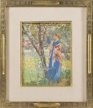 KARL ALBERT BUEHR (Illinois/Vermont/France, 1866-1952),
