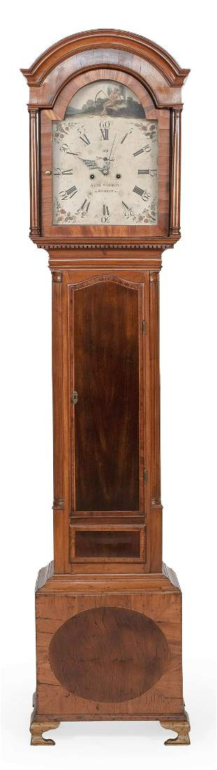 TALL-CASE CLOCK Dublin, Late 18th/Early 19th Century
