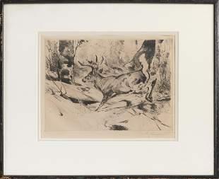CARL RUNGIUS (New York/Wyoming/Canada, 1869-1959),