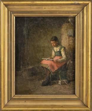 WILLIAM HENRY SNYDER (New York, 1829-1910), Interior
