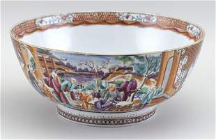 CHINESE EXPORT FAMILLE ROSE PORCELAIN BOWL Early 19th
