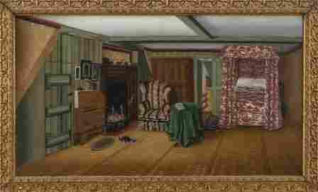 ELLA EMORY (Hingham, Massachusetts, 19th Century), Rare