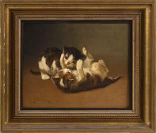 JOHN HENRY DOLPH (New York/Ohio, 1835-1903), Two