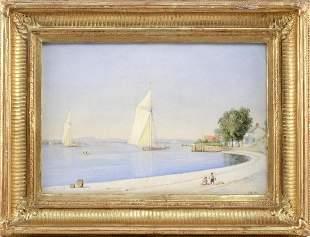 JOHN WILLIAM HILL (New Jersey/California, 1812-1879),
