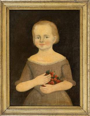 ATTRIBUTED TO JOHN BREWSTER, JR. (Maine/Connecticut,