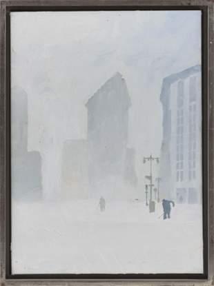 "ARTHUR MORRIS COHEN (New York, 1928-2012), ""Flatiron"