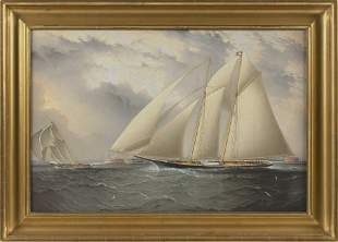 FINE REPRODUCTION OF A JAMES E. BUTTERSWORTH PAINTING