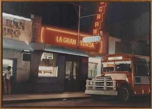 "ROBERT GNIEWEK (Michigan, b. 1951), ""La Gran Torta"".,"