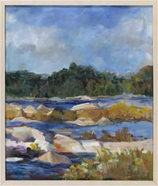 "BARBARA BARTLETT (America, Contemporary), ""'Maine -"