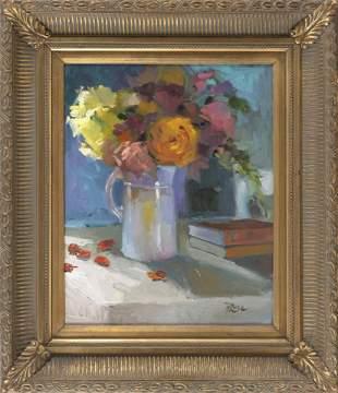 HOWARD ROSE (New York, Contemporary), Floral still