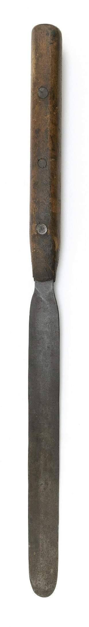 STEEL FLENSING KNIFE