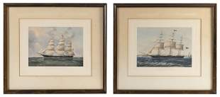 """PRINTS OF THE CLIPPER SHIPS """"NIGHTINGALE"""""""