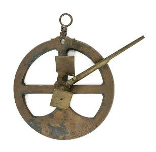 IMPORTANT EARLY 17TH CENTURY BRASS ASTROLABE FROM THE