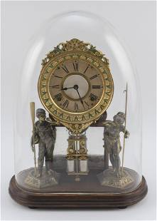 ANSONIA FIGURAL CLOCK Late 19th/Early 20th Century