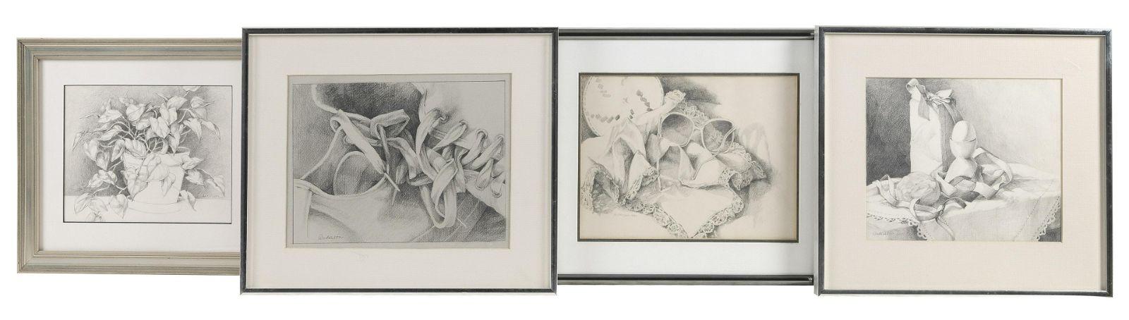 ANNE ANDERSON (Connecticut, Contemporary), Four still