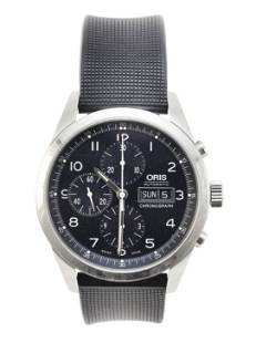 ORIS STAINLESS STEEL AUTOMATIC CHRONOGRAPH