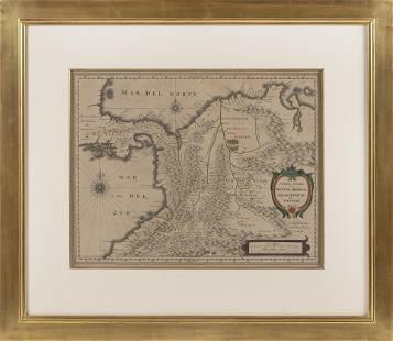 "JACOB VAN MEURS (Amsterdam, 17th Century), ""Terra Firma"