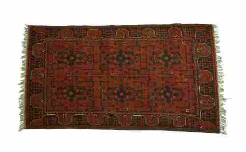 AUTHENTIC HANDWOVEN AFGHAN-PERSIAN RUG