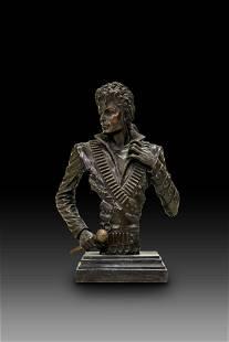 Bronze Bust Of Michael Jackson