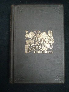 10: Mark Twain. Innocents Abroad 1869. Subscription