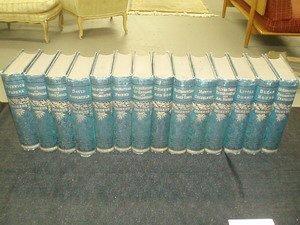 11: Dickens 14 Vols Decorative Cloth 1885