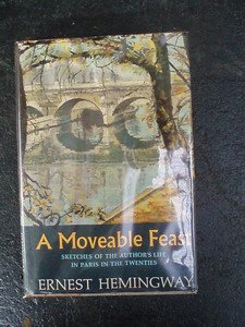 110: A Moveable Feast. Hemingway 1st ed.
