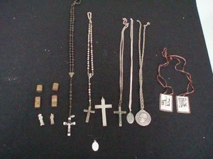 305: Religious Medals and Rosary Beads