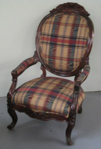 323: Rosewood Laminate Lady's Chair