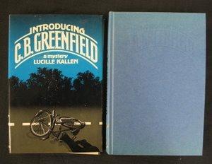 706: Kallen. Into CB Greenfield Sgd Inscr