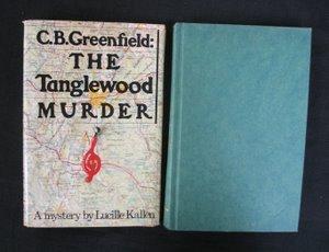 707: Kallen The Tanglewood Murder Sgd Inscr