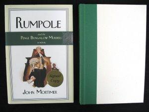 715: Mortimer Rumpole Bungalow Murders Sgd 1st Am Ed