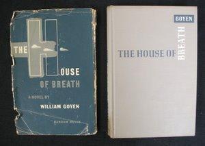 723: Goyen. House of Breath. Sgd Inscr