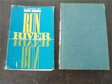 775: Joan Didion Run River 1963 1st Ed Somers BP