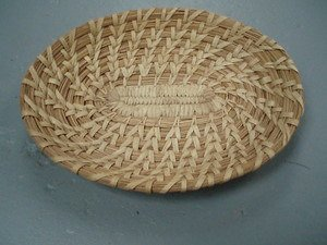 5: Native American Indian Shallow Basket