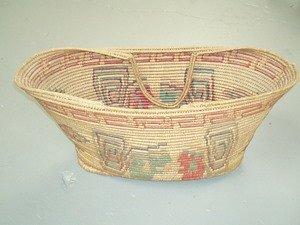 7: Toluca Valley Mexican Basket w/Handles