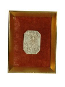 115: 18th Century Carved Ivory Plaque