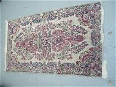 243: Lavar Kerman Persian Rug Semi-Antique