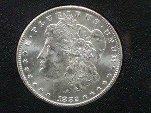 5: 1882 Carson City Morgan Dollar GSA Uncirculated