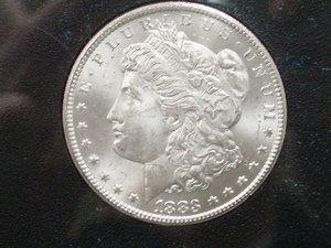 6: 1883 Carson City Morgan Dollar GSA Uncirculated