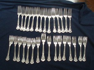 15: Cowell ' Hubbard Sterling Silver - 30 pieces