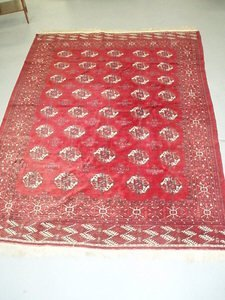 1: Persian Bokhara Carpet