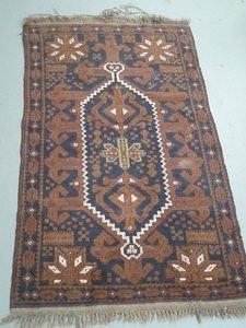 3: Persian Afgan Tribal Carpet Mat