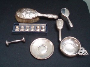 13: Misc. Sterling Articles - 7 Items
