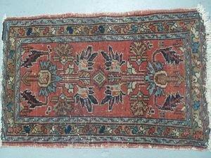 2A: Persian Prayer Rug Mat
